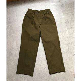 エンジニアードガーメンツ(Engineered Garments)の60sイギリス軍 ウールトラウザー  ドレスパンツ ヴィンテージ(スラックス)