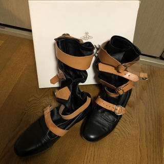 ヴィヴィアンウエストウッド(Vivienne Westwood)のヴィヴィアンウエストウッド パイレーツブーツ サイズ24.5(ブーツ)