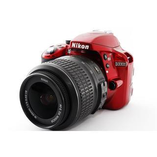 ニコン(Nikon)の高画質一眼レフ!Nikon D3300 レンズセットフード付(デジタル一眼)