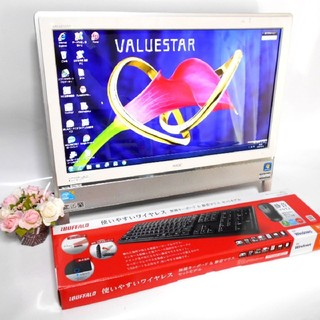すぐ使える/ブルーレイ/Win10/core i5/Office/大容量/一体型(デスクトップ型PC)