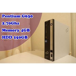フジツウ(富士通)の★想像以上にサクサク!★ コスパ最高 第二世代Pentium(デスクトップ型PC)