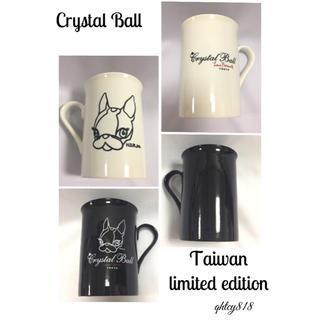 クリスタルボール(Crystal Ball)の【新品未使用】非売品 台湾限定 Crystal Ball マグカップ2個SET(グラス/カップ)