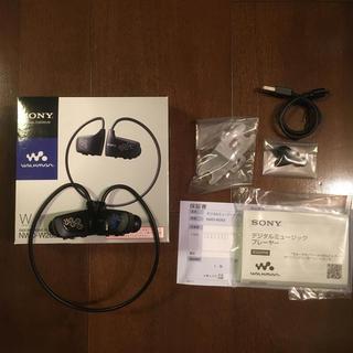 ウォークマン(WALKMAN)のソニー ウォークマン NWD-W263 ブラック(ポータブルプレーヤー)