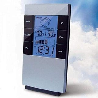 【送料無料】温湿度計 デジタル 時計(置時計)