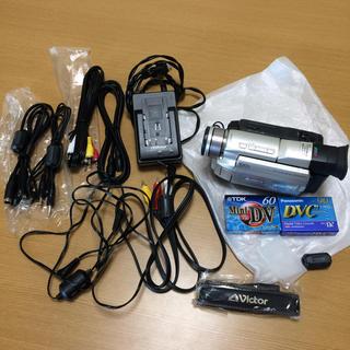 ビクター(Victor)のVictor  デジタルビデオカメラ GR-DVA10 テープ2本付き(ビデオカメラ)