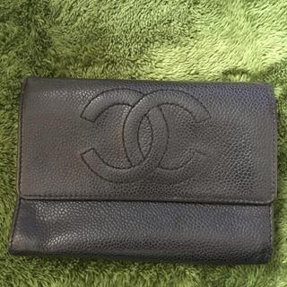 シャネル(CHANEL)の★★ CHANELのお財布、キャビアスキン★★(財布)