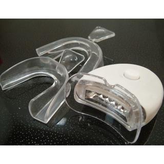 強力5灯式 ホームホワイトニング LEDライト マウスピースセット(その他)