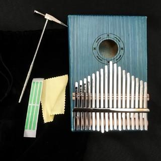 アフリカ民族楽器 カリンバ 17キー 速達レター発送(その他)