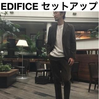 エディフィス(EDIFICE)の新品 EDIFICE 定価51840円 セットアップ スーツ ジャケット パンツ(セットアップ)