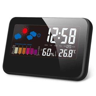 【新品】【送料無料】デジタル湿度計 温度計(置時計)