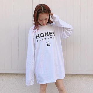 ハニーシナモン(Honey Cinnamon)の♥︎ honey cinnamon ロンT ♥︎(Tシャツ(長袖/七分))