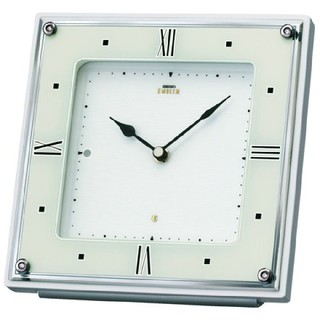 セイコー(SEIKO)の新品SEIKO EMBLEM 置き時計 電波時計 HW586W  (置時計)
