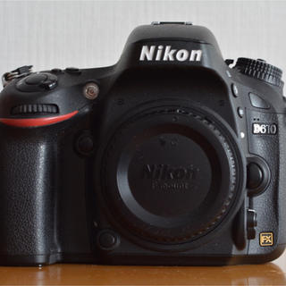 ニコン(Nikon)の【美品】Nikon D610  約2000ショット(デジタル一眼)