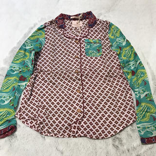 スコッチアンドソーダ(SCOTCH & SODA)のSCOTCH&SODA スコッチ&ソーダ 子供服 リネン シャツ 女の子 新品(Tシャツ/カットソー)