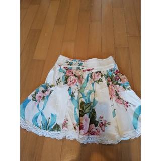 リズリサ(LIZ LISA)のLIZ LISA(リズリサ)の愛されブーケ柄スカート♪(ひざ丈スカート)