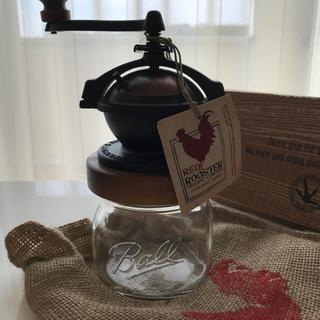 ももた様ご専用です‼︎未使用 RED ROOSTERコーヒーミル(電動式コーヒーミル)