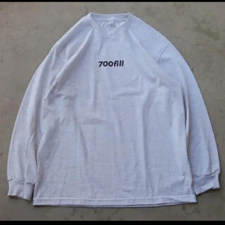 ワンエルディーケーセレクト(1LDK SELECT)の 700fill power payment logo long sleeve(Tシャツ/カットソー(七分/長袖))