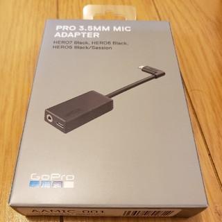【新品未開封・送料込み】GoPro 3.5mmマイクアダプターAAMIC-001(ビデオカメラ)