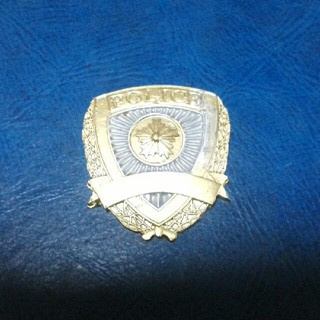 警察手帳用プラスチックエンブレム(個人装備)