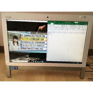 フジツウ(富士通)のFH56/DD i5-2520M 3波TV W録画 Windows10(デスクトップ型PC)