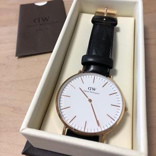 ダニエルウェリントン(Daniel Wellington)のダニエルウェリントン ローズゴールド 40mm ベルト2本付き(腕時計)