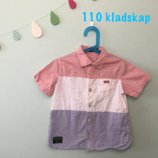 クレードスコープ(kladskap)のクレードスコープ 半袖シャツ 110 電車(Tシャツ/カットソー)