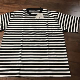 MUJI (無印良品) - 新品 未使用 無印良品 MUJI Labo  ボーダー Tシャツ