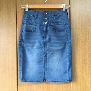 ジーユー(GU)のタイトスカート 膝丈(ひざ丈スカート)