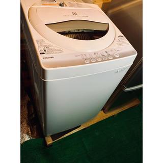 トウシバ(東芝)の配送可❗️ TOSHIBA ピュアホワイト洗濯機 5kg 美品 (洗濯機)