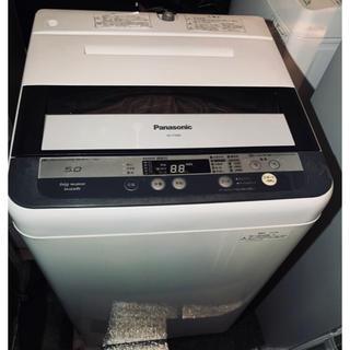 パナソニック(Panasonic)の配送可❗️ 1人暮らしに❗️ Panasonic 5kg 洗濯機 2013年製(洗濯機)