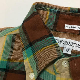 インディヴィジュアライズドシャツ(INDIVIDUALIZED SHIRTS)のサイズ15 1/2 INDIVIDUALIZED SHIRTS ネルシャツ(シャツ)