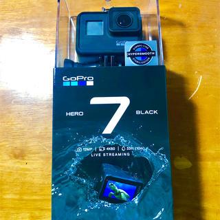 ゴープロ(GoPro)のGoPro Hero7 BLACK 新品未使用 納品書同梱 3月購入 ゴープロ(ビデオカメラ)