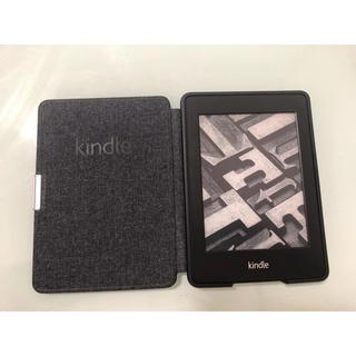 kindle paperwhite 第5世代 純正ケース付き(電子ブックリーダー)