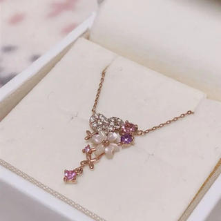 サマンサティアラ(Samantha Tiara)のSamantha Tiara 10k ピンクゴールド ネックレス(ネックレス)