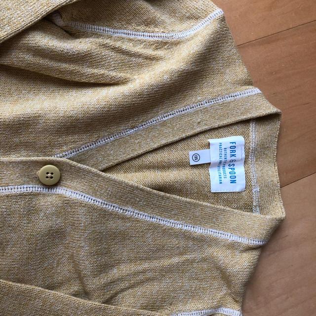 DOORS / URBAN RESEARCH(ドアーズ)のアーバンリサーチドアーズ キッズ 135 コットンカーディガン キッズ/ベビー/マタニティのキッズ服 女の子用(90cm~)(カーディガン)の商品写真