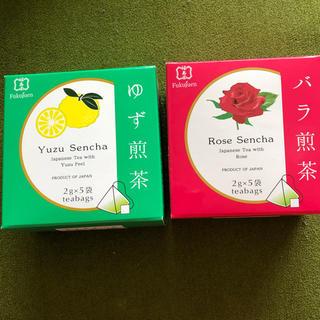 ゆず・バラ・煎茶(茶)