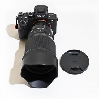シグマ(SIGMA)のSIGMA ART 85mm F1.4 単焦点レンズ新品同様(ソニーEマウント)(レンズ(単焦点))