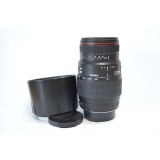 シグマ(SIGMA)の【キャノン用】 SIGMA APO 70-300mm F4-5.6(レンズ(ズーム))