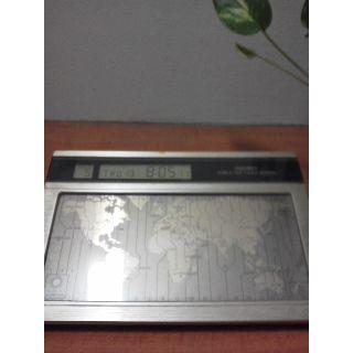 タッチセンサーのセイコーの世界の時計(置時計)