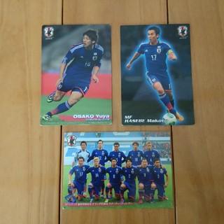 日本サッカー代表 カード カルビー(その他)