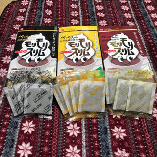 モリモリスリム ほうじ茶風味・プーアル茶風味・ハト麦茶風味 ミックス10袋(健康茶)