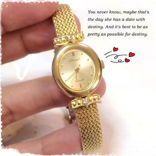 オリエント(ORIENT)のORIENTヴィンテージゴールド腕時計(腕時計)