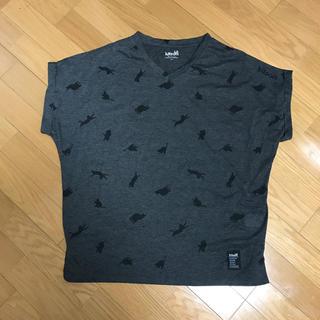シマムラ(しまむら)のしまむら✖️kitsonコラボ ネコ柄Tシャツ(Tシャツ(半袖/袖なし))