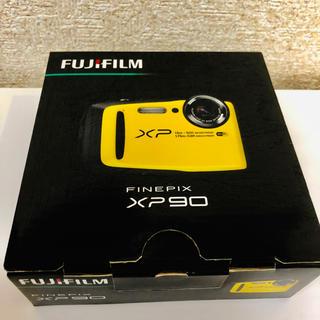 フジフイルム(富士フイルム)のFUJIFILM デジタルカメラ XP90 防水 イエロー FX-XP90Y(コンパクトデジタルカメラ)