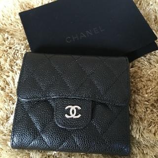 シャネル(CHANEL)のシャネル 三つ折り財布(財布)