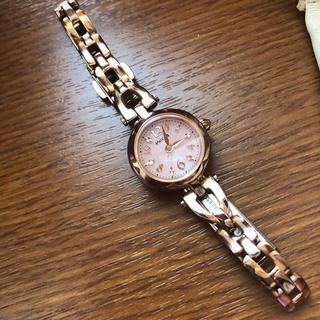 シチズン(CITIZEN)の腕時計 ウィッカ wicca 有村架純(腕時計)