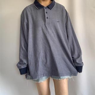 ナイキ(NIKE)のNIKE ロゴ刺繍ポロシャツ(ポロシャツ)