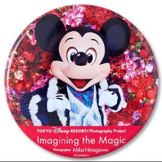 ミッキーマウス - イマジニングザマジック  ミッキー 缶バッジ