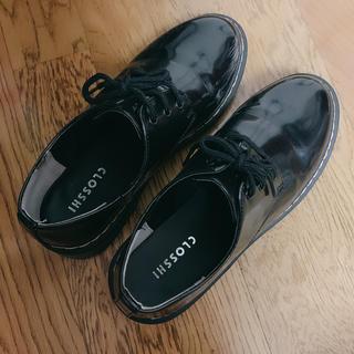 シマムラ(しまむら)のしまむら ドクターマーチン 革靴 黒(ローファー/革靴)