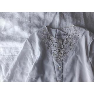 刺繍 カットワークのブラウス(シャツ/ブラウス(長袖/七分))